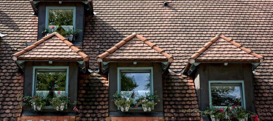 verschiedene Dachfenster